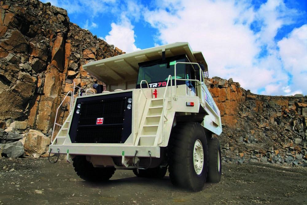 Terex Trucks - TR70 Articulated Dump Trucks