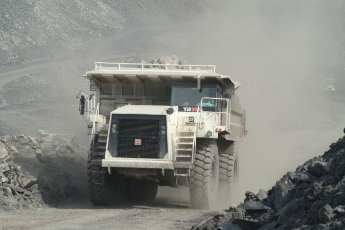 Terex Trucks - TR100 Articulated Dump Trucks