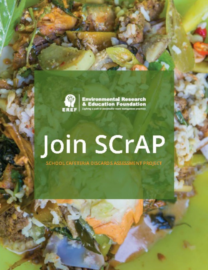 EREF program allows U.S. schools to join in the fight against food waste