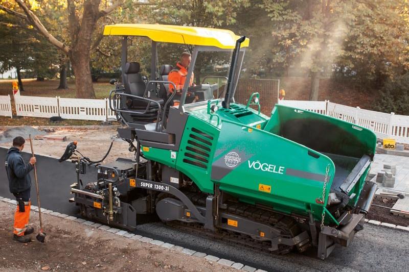 Vogele - SUPER 1300-3i Asphalt Pavers