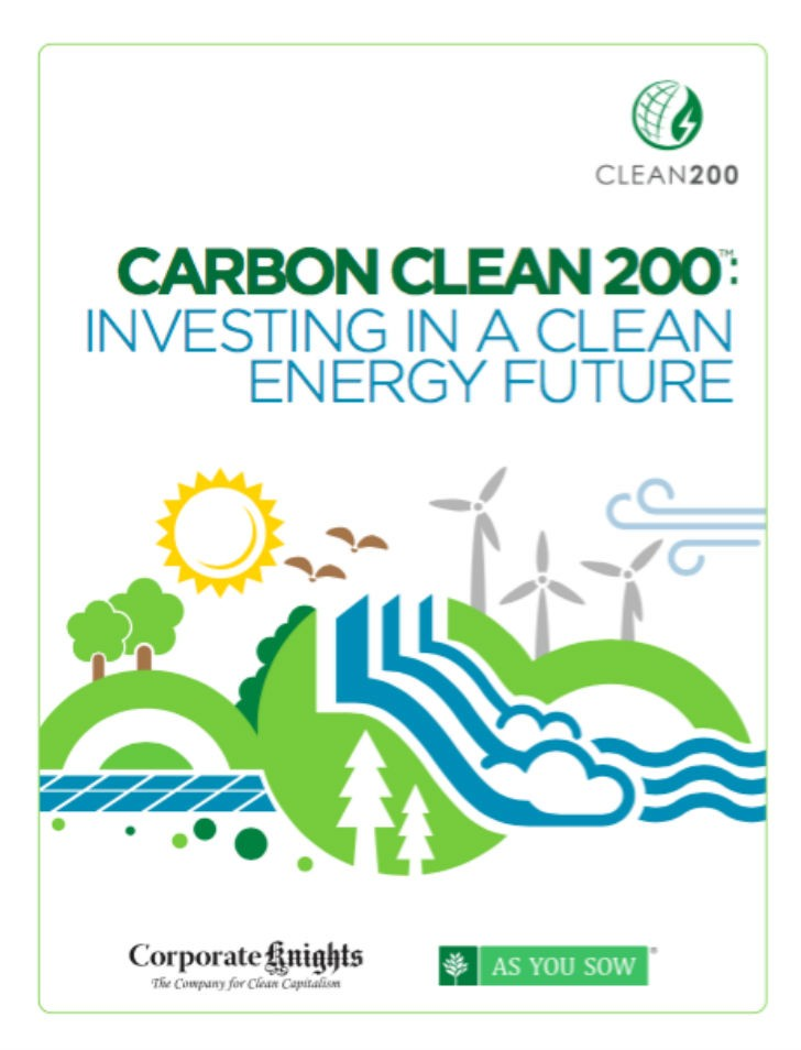 Covanta has been ranked number 55 on the Carbon Clean 200 list.