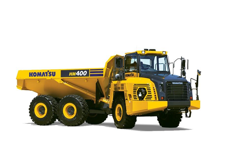 Komatsu America Corp. - HM400-5 Articulated Dump Trucks