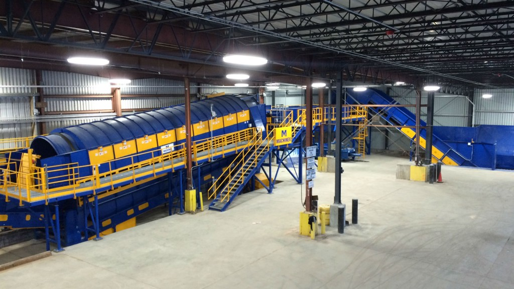 Waste Processing facility at Wasatch Integrated Waste Management District.