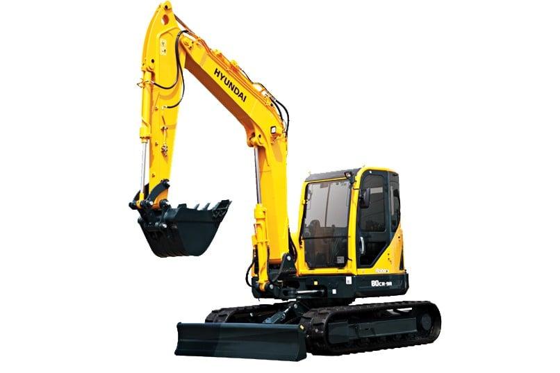 Hyundai Construction Equipment Americas Inc. - R80CR-9A Excavators