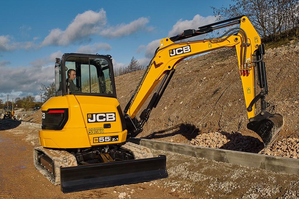 JCB - 55Z-1 Compact Excavators