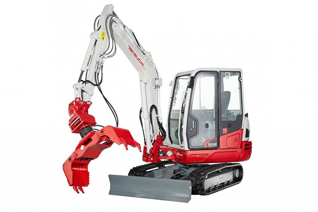Takeuchi - TB240 Compact Excavators
