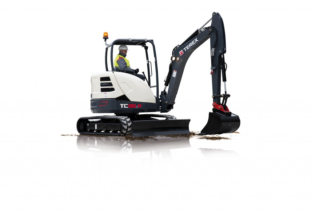 Terex Corporation - TC35-2 Compact Excavators