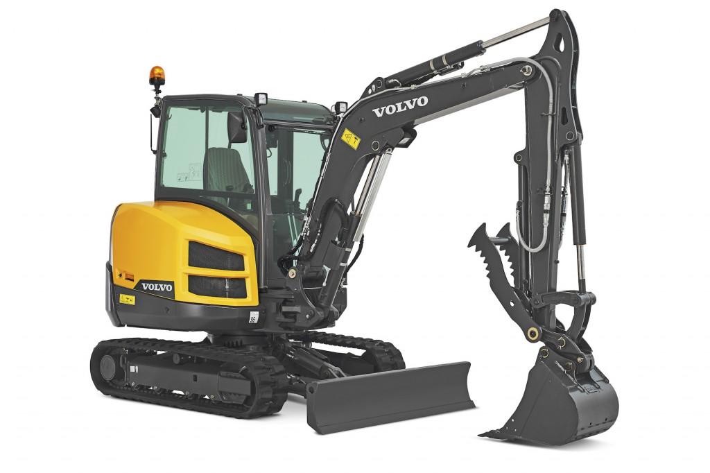 Volvo Construction Equipment - EC35D Compact Excavators