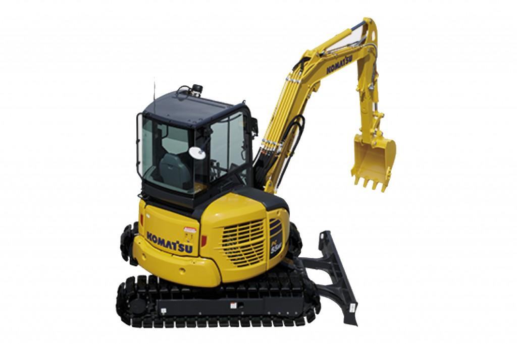 Komatsu America Corp. - PC55MR-5 Compact Excavators