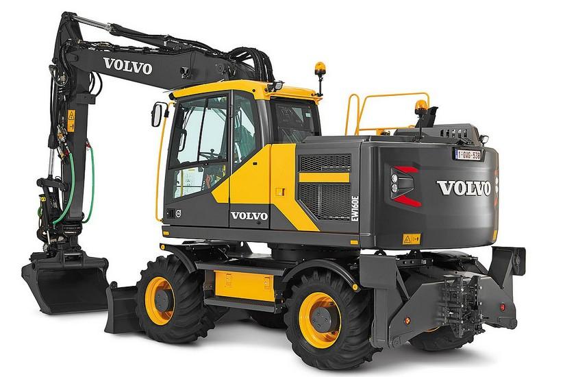 Volvo Construction Equipment - EW160E Excavators