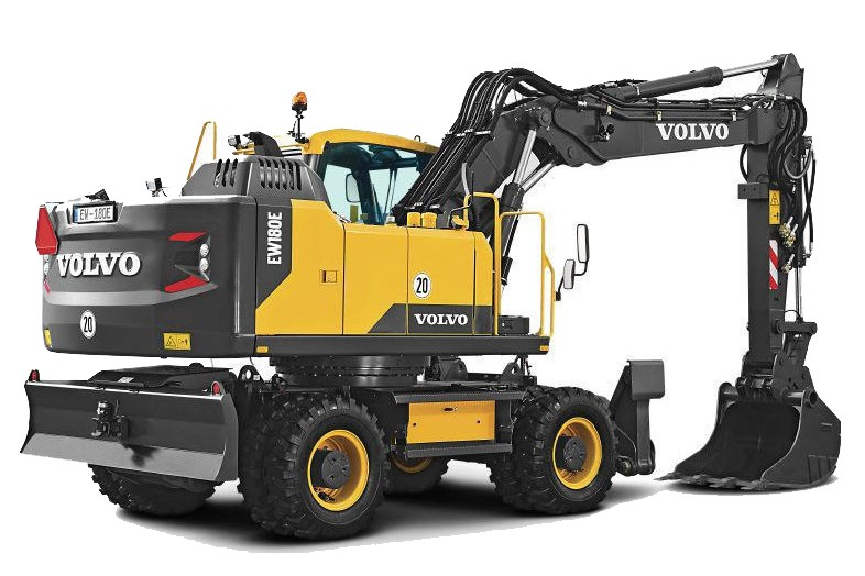 Volvo Construction Equipment - EW180E Excavators
