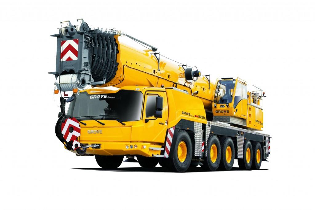 Manitowoc Company, Inc - Grove GMK5250L All Terrain Cranes