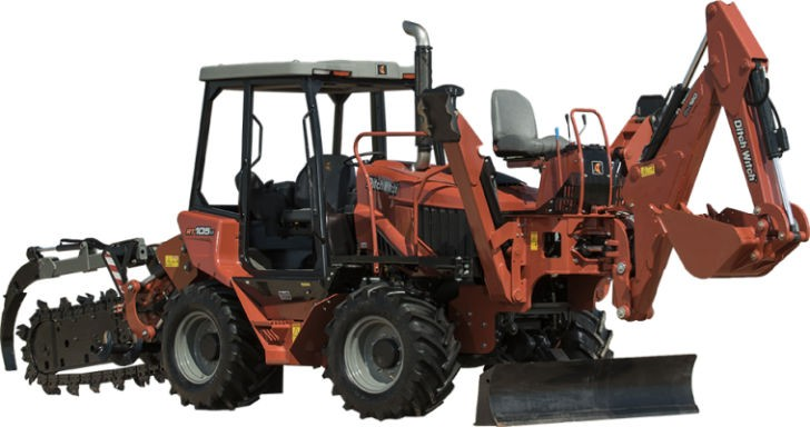 The RT105 has a 107-hp (80-kW) turbocharged Tier 4 Deutz diesel engine which provides the power to perform all machine tasks on the toughest jobs.