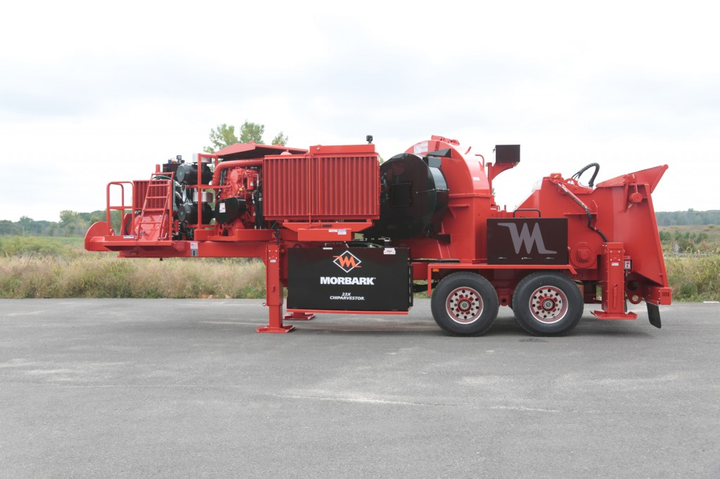 Morbark, Inc. - 23X Chiparvestor Chippers