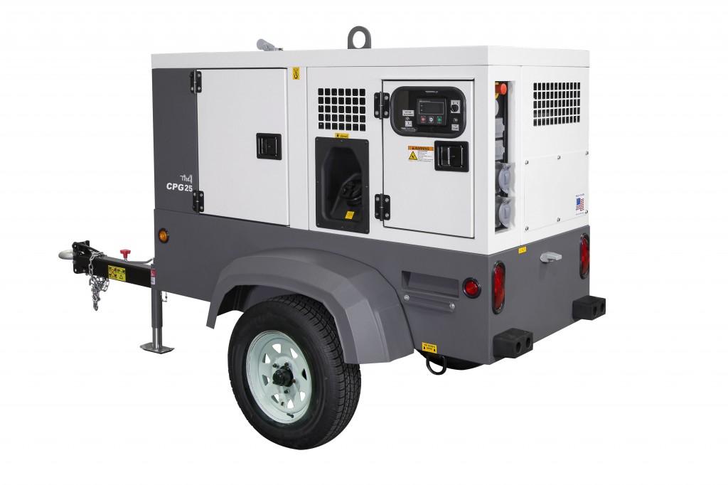 Chicago Pneumatic - CPG 25/CPG 45 Generators