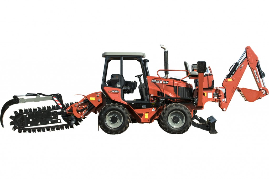 Ditch Witch - RT105 Ride On Tractors