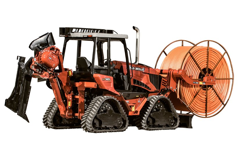 Ditch Witch - RT125 Quad Ride On Tractors