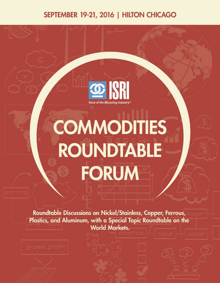2016 ISRI Commodities Roundtable.