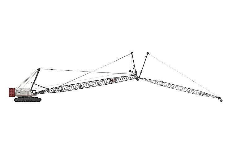Link-Belt Construction Equipment Company - 298 Series 2 Lattice Boom Cranes