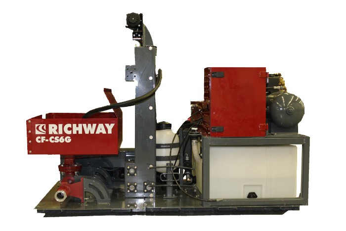 Richway Industries, Ltd. - CF-CT6G Concrete Pumps