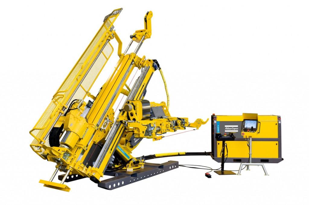 Atlas Copco - Diamec Smart 6 Drill Rigs