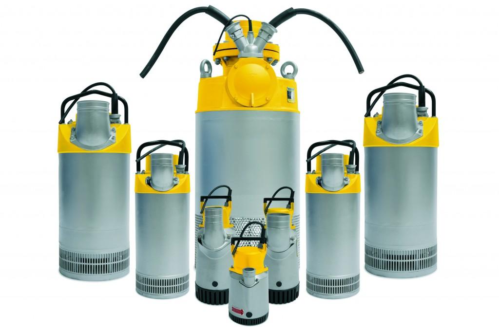 Atlas Copco - WEDA Pumps Pumps