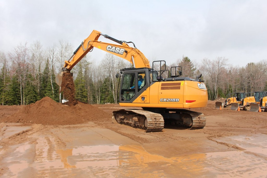 Case Construction Equipment - CX210D Excavators