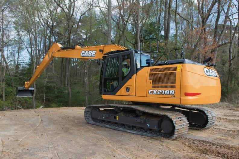 Case Construction Equipment - CX210D LR Excavators