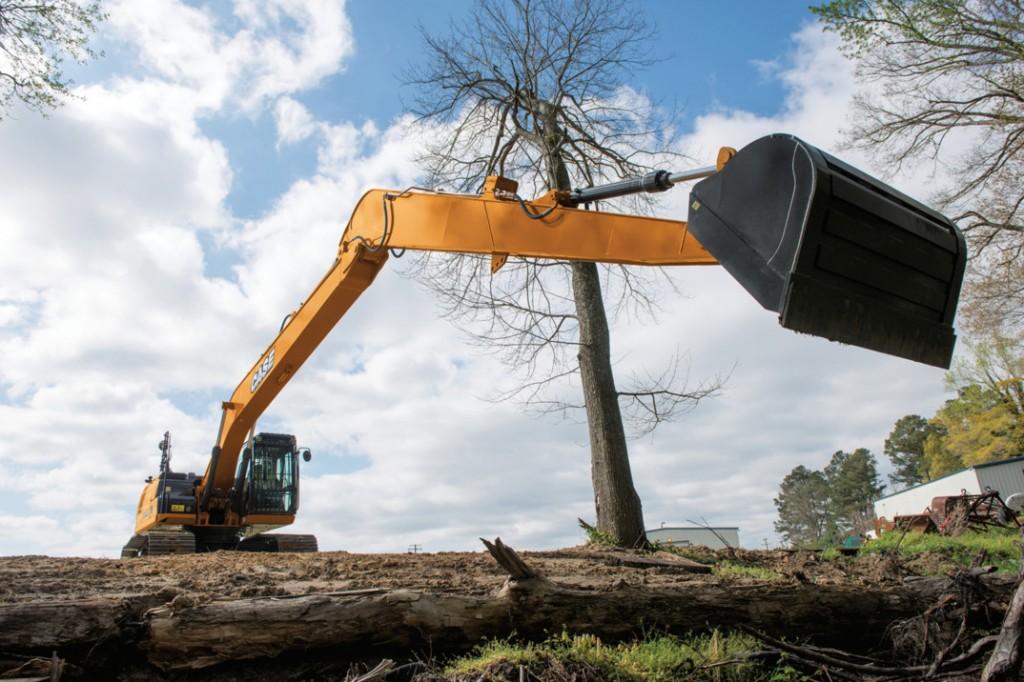 CASE Construction Equipment - CX250D LR Excavators