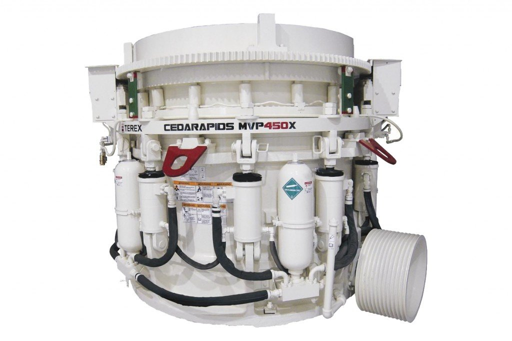 Terex Minerals Processing Systems - Cedarapids MVP Series Stationary Cone Crushers