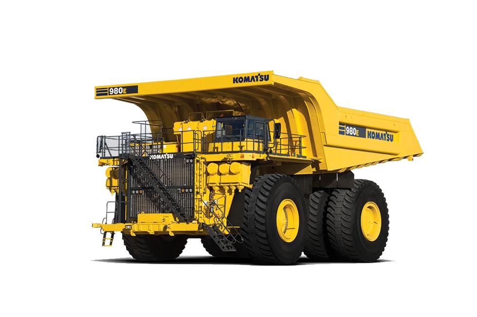 Komatsu America Corp. - 980E-4 Mining Trucks