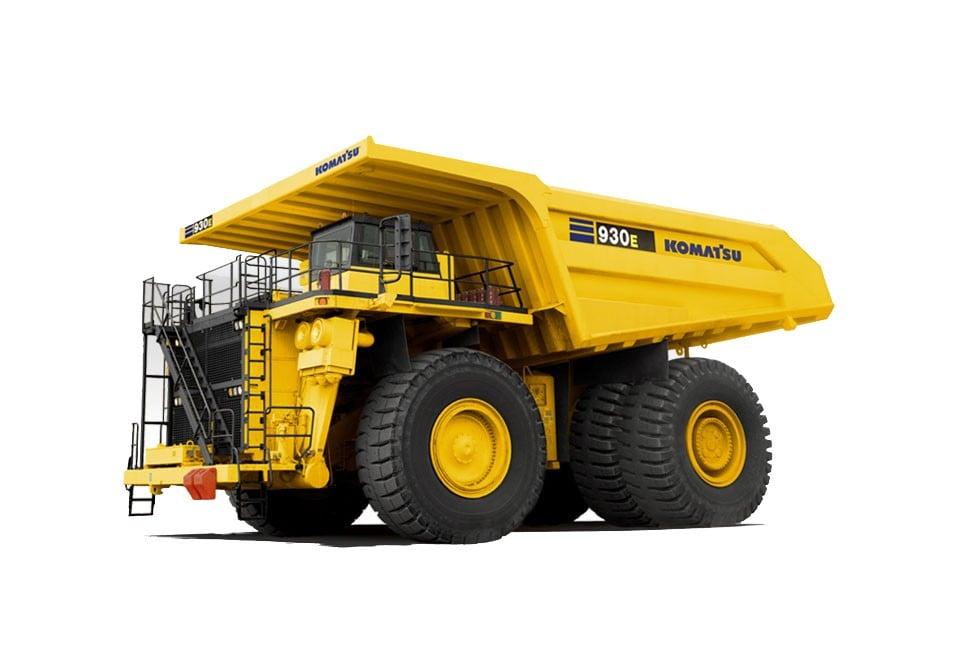 Komatsu America Corp. - 930E-4 Mining Trucks