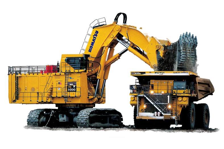 Komatsu America Corp. - PC8000-6 Mining Shovels