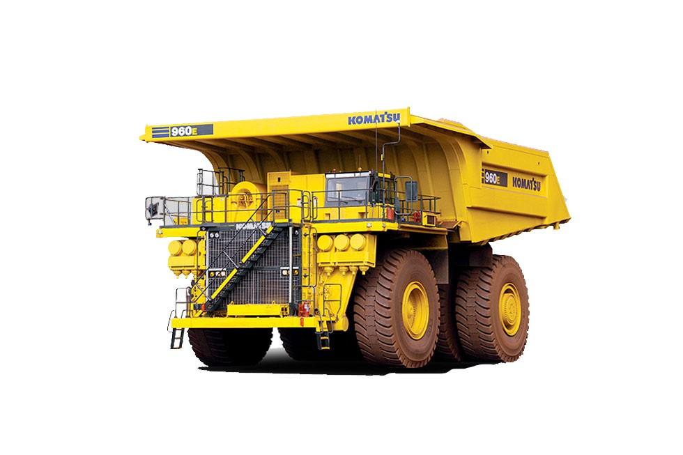 Komatsu America Corp. - 960E-2 Mining Trucks