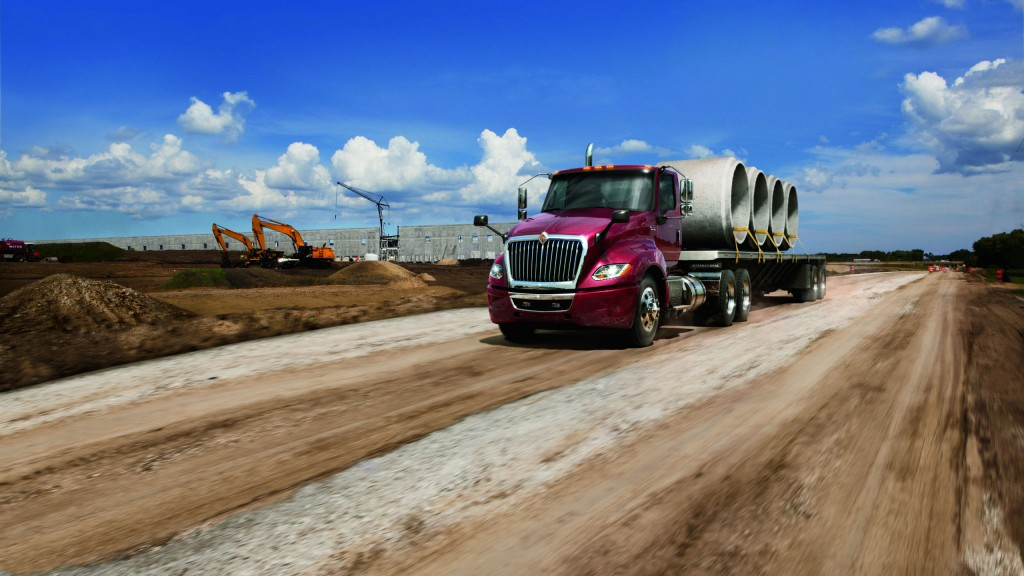 Extensive driver input helps International Truck deliver new levels of fuel efficiency in new LT Series