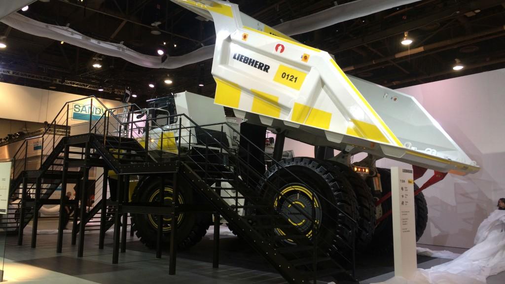New Liebherr T 236 mining truck makes big impression at MINExpo