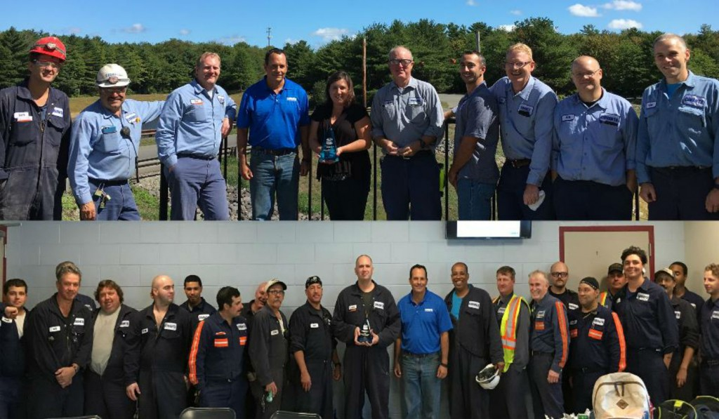The Covanta SEMASS facility located in West Wareham, MA, received the Solid Waste Association of North America's 2016 Excellence Award!