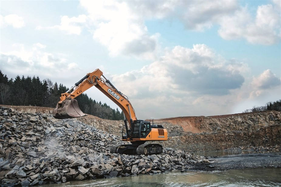 Case Construction Equipment - CX490D Excavators