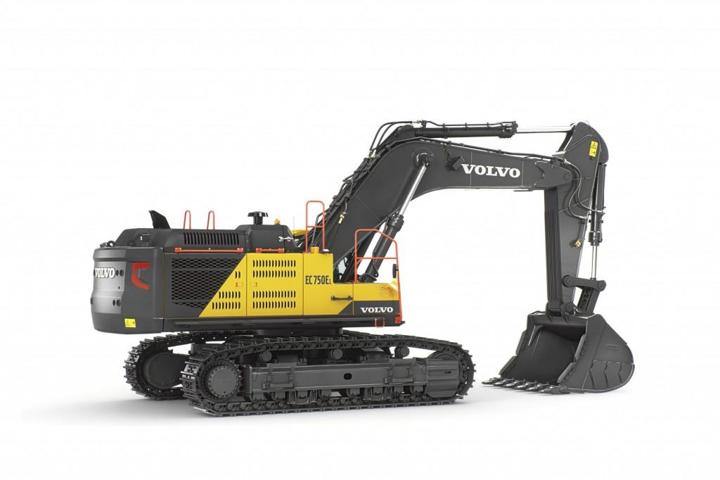 Volvo Construction Equipment - EC750E Excavators