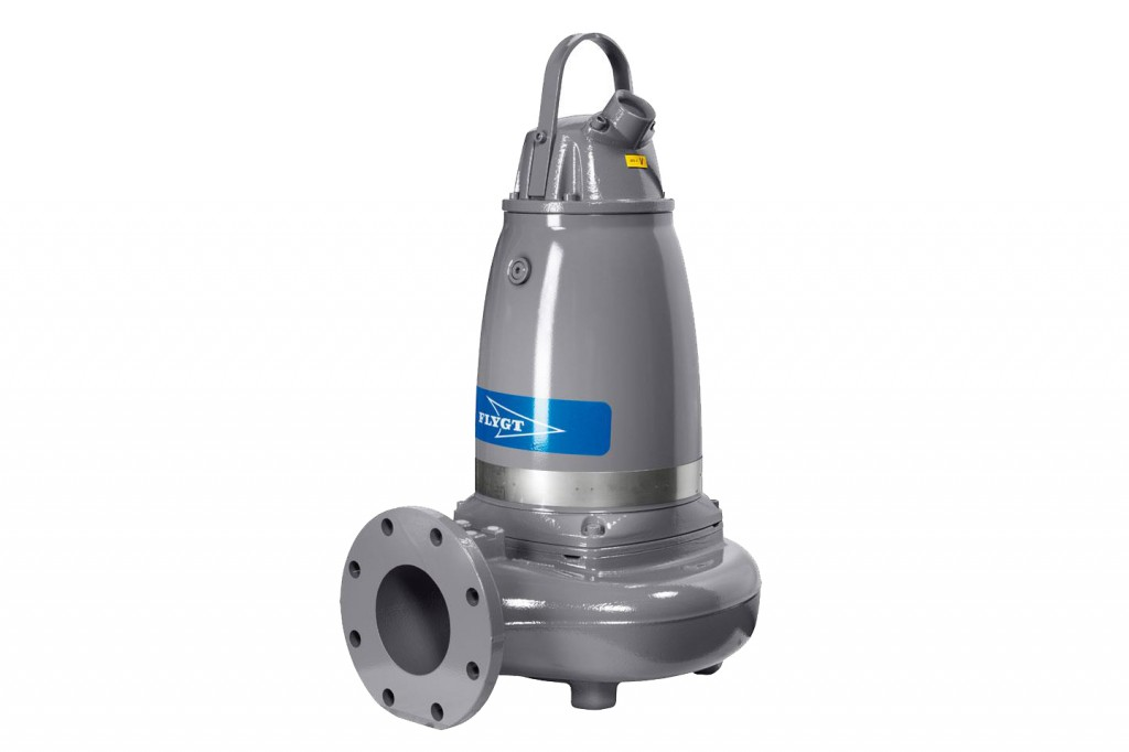 Xylem Inc. - Flygt 3000 series Submersible Shredder Pumps