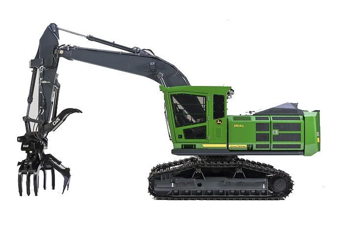 John Deere Construction & Forestry - 3154G Forestry Log Loaders
