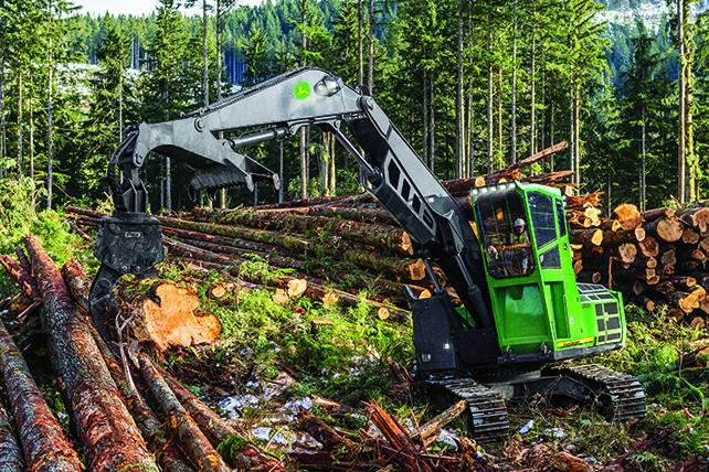 John Deere Construction & Forestry - 3756G Forestry Log Loaders