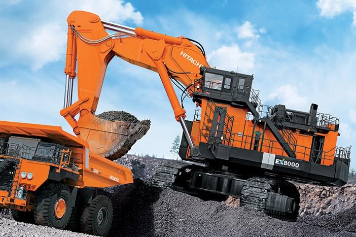 Hitachi Construction Machinery Corporation - EX8000-6 Mining Shovels