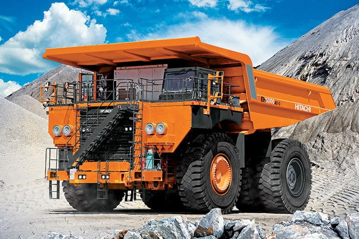 Hitachi Construction Machinery Corporation - EH5000AC-3 Rigid Haulers