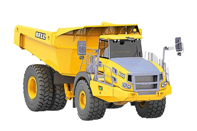 Bell Equipment (North America) - B60E Articulated Dump Trucks