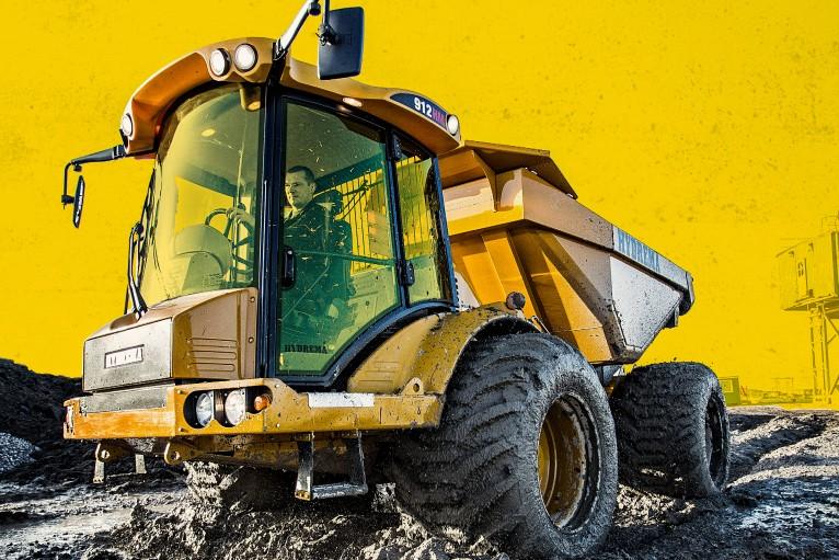 Hydrema - Hydrema 912ES / 912EHM Articulated Dump Trucks