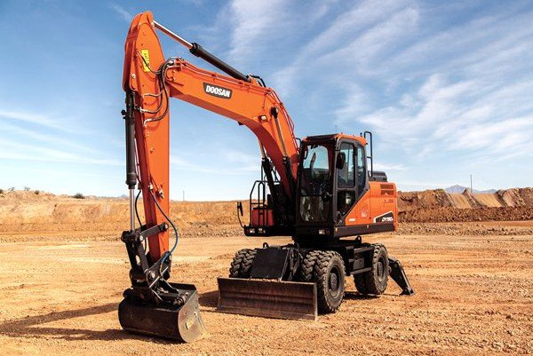 Doosan Infracore North America LLC - DX190W-5 Excavators
