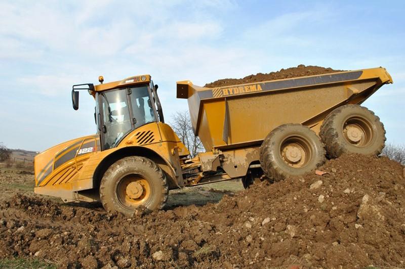 Hydrema - 922HM Articulated Dump Trucks