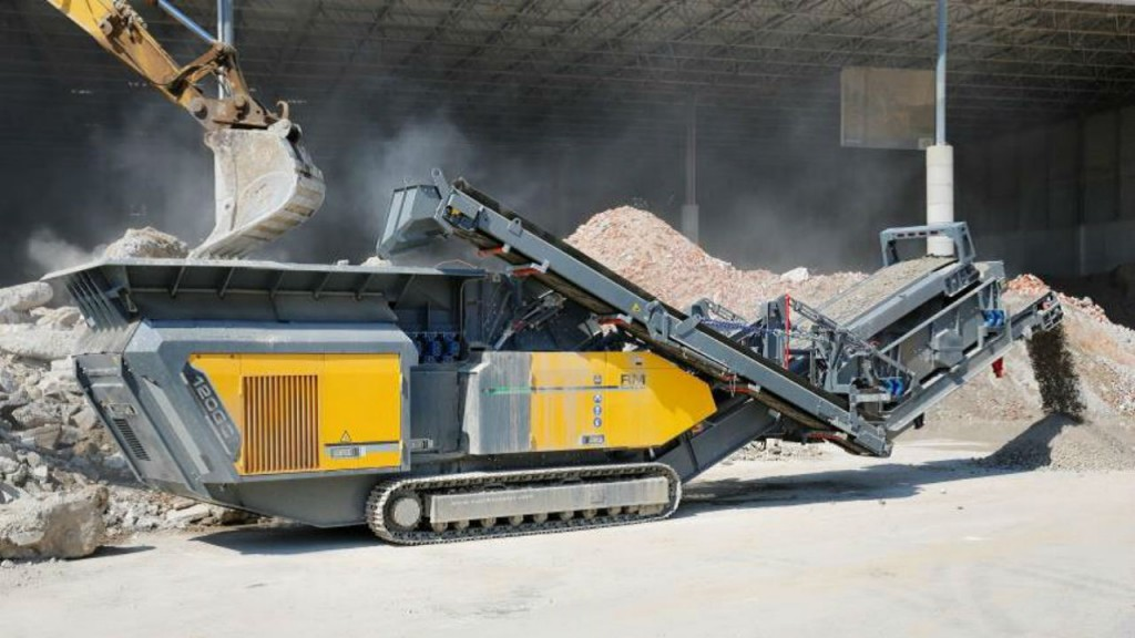 The RM 120GO! impact crusher.