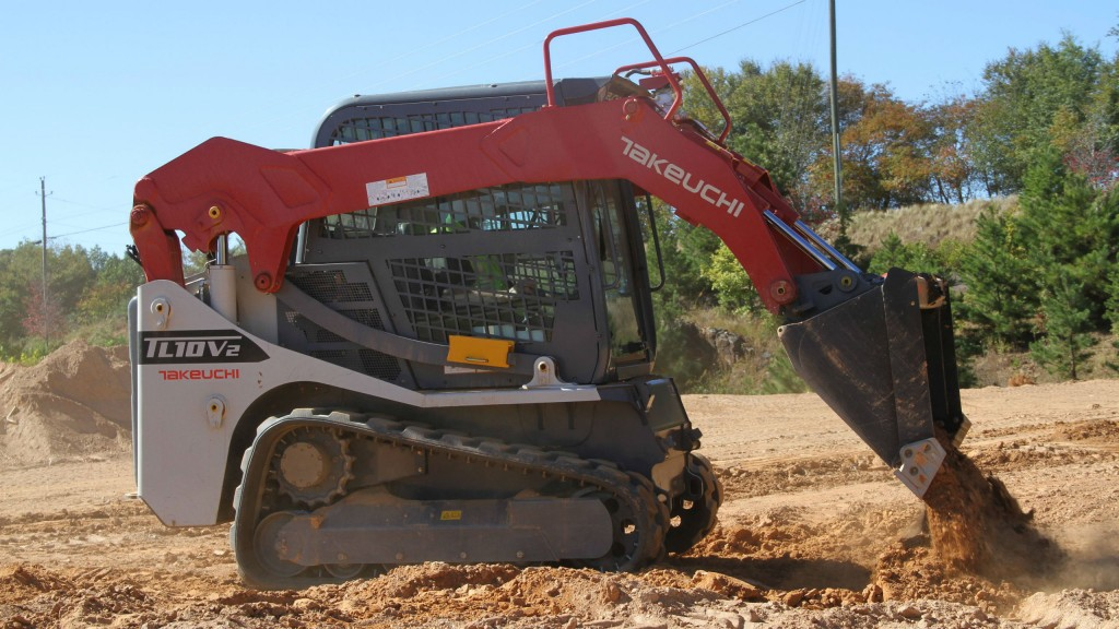 Takeuchi introduces two new track loaders featuring Takeuchi
